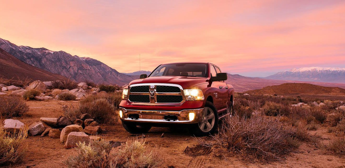 2020 Ram 1500 Classic Front View Red Exterior Picture